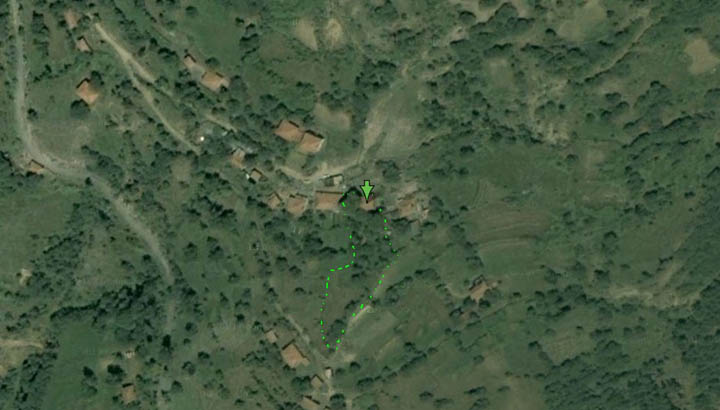 Кръстатица - карта 2