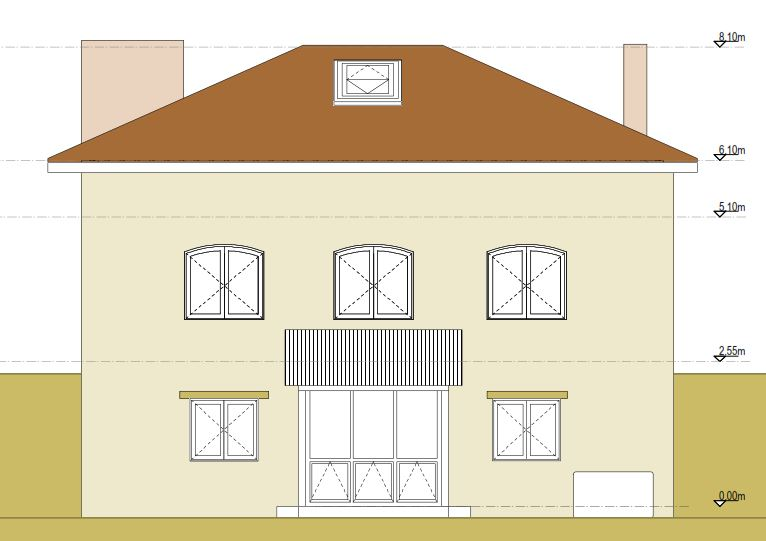 Къщата - план 1